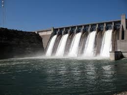 De waterkracht energie van Nederland