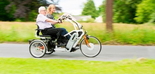 Duofiets – elektrische trapondersteuning – zorgt voor blije gezichten